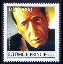 Sao Tome 2004 MNH, Humphrey Bogart,  Film actor, Died of Cancer