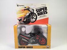 Zylmex Intex 1/18 Scale Kawasaki Ninja Super Bikes Die Cast Motorcycle MIB 1982
