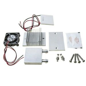 DIY Kit TEC1-12706 Thermoelectric Peltier Module Water Cooler Cooling Syst R4P5