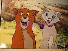 O'Malley Duchess The AristoCats Art Corner Disney paint Original Production cel