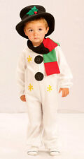 Snowman Xmas Christmas Toddler Fancy Dress Costume Age 2 - 4 P8100