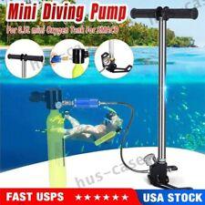 Smaco Scuba Oxygen Cylinder Tank Diving air pump hand pump Inflator hand pump Us