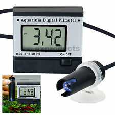 Digital pH-Meter Large Display 1m Cable 0.0~14.0 pH Hydroponics Aquarium Tester