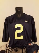 271be01e5 Vintage Nike Michigan Wolverines Charles Woodson Jersey Size XL Made In USA