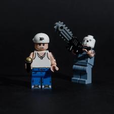 Eminem SSLP20 Lego Minifigure Minifig Bundle Set of 2 D12 Chainsaw Slim Shady