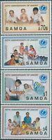 Samoa 1996 SG1000-1003 UNICEF set MNH