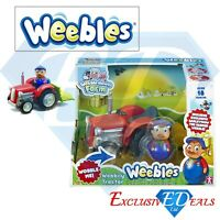 Weebles - Wobbily Tractor & Farmer Barleymow Figure Toy Brand New & Sealed Game