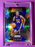 Kobe Bryant SILVER REFRACTOR PANINI PRIZM DOMINANCE INSERT CARD Mint Condition!