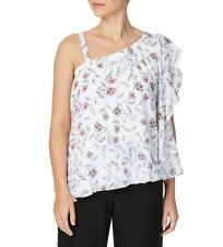 TABLE EIGHT, SIZE 14, BNWT, WHITE, ISOLDE PRINT TOP