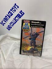 Vintage 1985 Tonka Super Go-Bots - Warpath - Apache Helecopter —NEW—