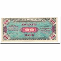Billets, Allemagne, 20 Mark, 1944, KM:195d, SUP #561970