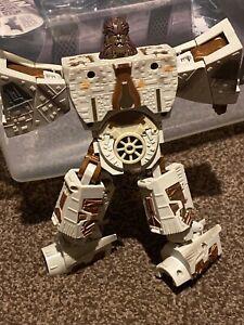 Millenium Falcon Chewbacca Crossovers Transformers