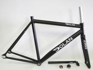 Dolan 52cm Pre Cursa Aluminum Track Frameset with Alpina Fork Brand New