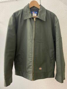 Men's Olive Green Dickies Eisenhower Jacket ~ Medium (38 in)