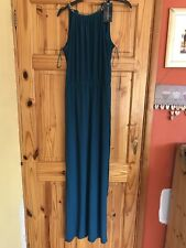 Stunning Ladies Teal Maxi Dress With Tags Size S By Anita & Green