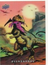 2015 Upper Deck 3D Dinosaurs Predators Single Card #25 Allosaurus