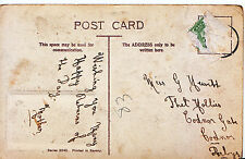 Genealogy Postcard - Family History - Hewitt - Codnor Gate  Codnor - Derby 530A