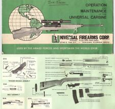 Universal M1 Carbine Operation and Maintenance