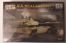 MAQUETTE MODEL KIT 1/72 U.S. M1A2 ABRAMS FORCES OF VALOR