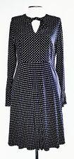 Witchery Black and White Polka Dot Dress Size AU 12