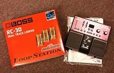Boss® RC-30 Phrase Looper Effects Pedal Electric Guitar Keyboard Vocals