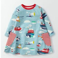 Mini Boden girls jersey print swing dress tunic top various prints, all ages