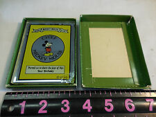 A. C. Tiffany Co. Chief Mickey Mouse Club Glass Permit-Chipped On The Corner