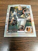 ADLEY RUTSCHMAN 2020 BOWMAN CHROME DRAFT CARD BD-154 BALTIMORE(ROOKIE REFRACTOR)