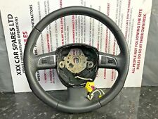 SEAT EXEO 2012 MULTI FUNCTION LEATHER  STEERING WHEEL 3R0419091E