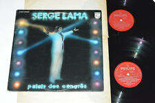 SERGE LAMA Palais des Congres 2-LP Philips Canada 6641-702 VG+/VG+/VG Congrès