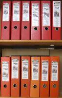 s735) Schiffspost Minensucher 3600 Belege 1967 - 2003  mit MSP + Einschreiben