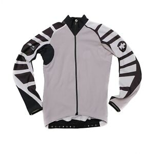 Assos iJ.tiBuru.4 winter cycling insulator jacket jersey Size Small Colour Gray