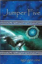 Stargate Atlantis Fanzine Jumper #4 #5 2011 2017 Full Size & Digest