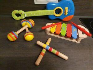 Baby Kinder PäDagogische Musikinstrument Spielzeug Gitarre GroßHandel Obst GJ8U3