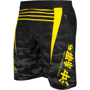 Venum Okinawa 2.0 Training Shorts - Black/Yellow