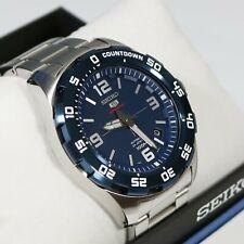Seiko 5 Sports Men's Blue Dial Automatic Watch SRPB85K1