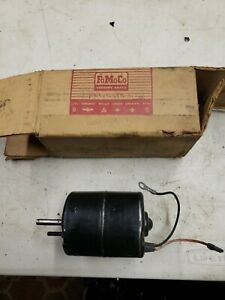 60'S NOS NEW Falcon Mustang heater blower motor Comet COAF-18527-D1         Y