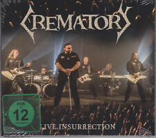 CREMATORY 2017 CD/DVD - Live Insurrection - Atrocity/Cemetary/Heavenwood SEALED