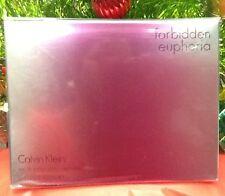 CALVIN KLEIN Forbidden Euphoria 3.4 Oz Eau De Parfum Spray for Women SEALED
