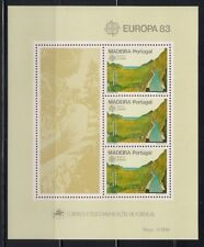 Portugal- Madeira  1983  Sc #88   Europa  s/s  MNH  (41114)