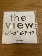 The View - Which Bitch? Album sampler Promo CD Mint - 1965 Records - 2009
