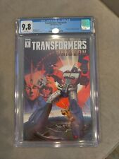 Transformers Unicron #1 Cgc 9.8 Retailer Incentive Homage