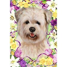 Easter Garden Flag - Wheaten Glen of Imaal Terrier 332151