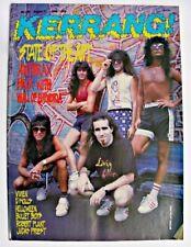 More details for kerrang 202 aug 27 1988anthrax vixen d'molls helloween bullet boys robert plant