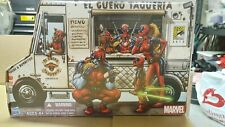 "Hasbro SDCC 2013 3.75"" Marvel Universe Deadpool Corps Taco Truck Box Set **Read*"