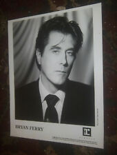 Bryan Ferry Vintage 8X10 Promo 1988 Photo Only One