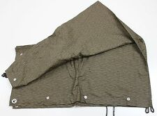 GENUINE DDR EAST GERMAN ARMY SHELTER COVER TENT HALF