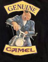 VTG Rare 90's Camel Genuine Ciggertes T Shirt Size XL Made USA