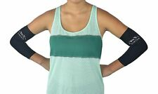 Elbow Sleeve Compression 2 Count Support Sports Brace Arm Reduces Pain Size M