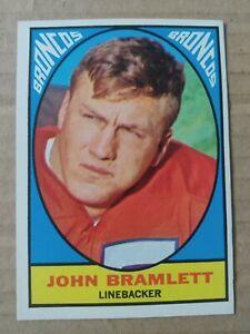 1967 Topps #38 John Bramlett Denver Broncos